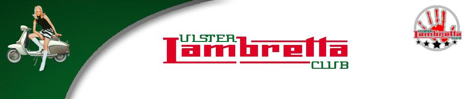 Ulster Lambretta Club Shop